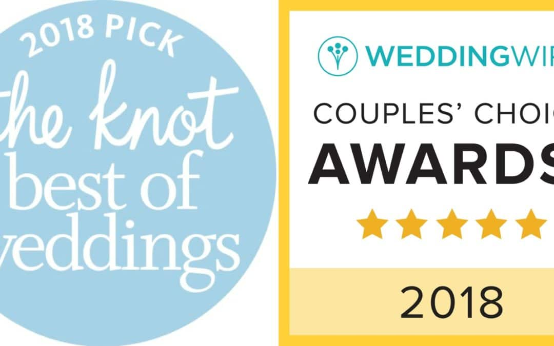 THE KNOT BEST OF WEDDINGS  2018 & WEDDINGWIRE COUPLES CHOICE