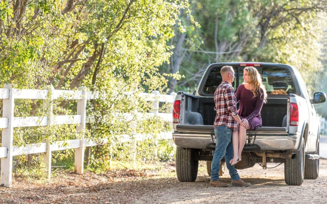 Country Themed Engagement Session in Fallbrook, CA