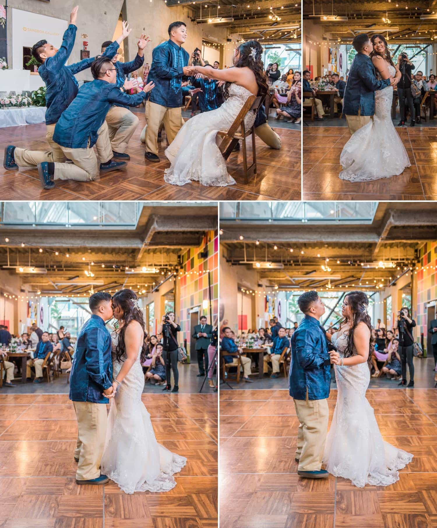 Jazmine Michael Whimsical Wedding At The New Children S Museum San Diego Ca Emry Photography