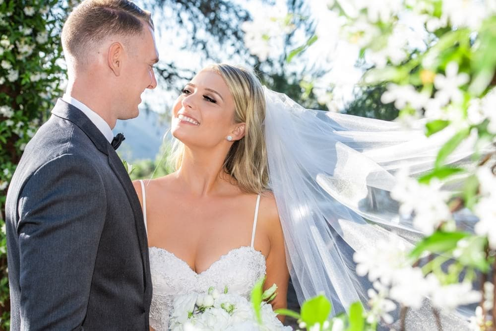 Mallory + Sebastian :: Elegant Barn Wedding :: California Botanical Gardens