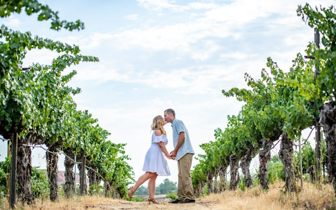 Wilson Creek Winery Engagement Session in Temecula, California