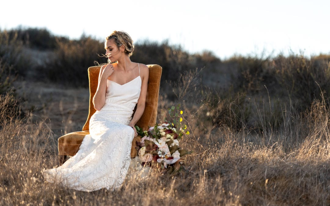 Bohemian Dream Styled Wedding At Wolf Feather Honey Farm :: Temecula, CA