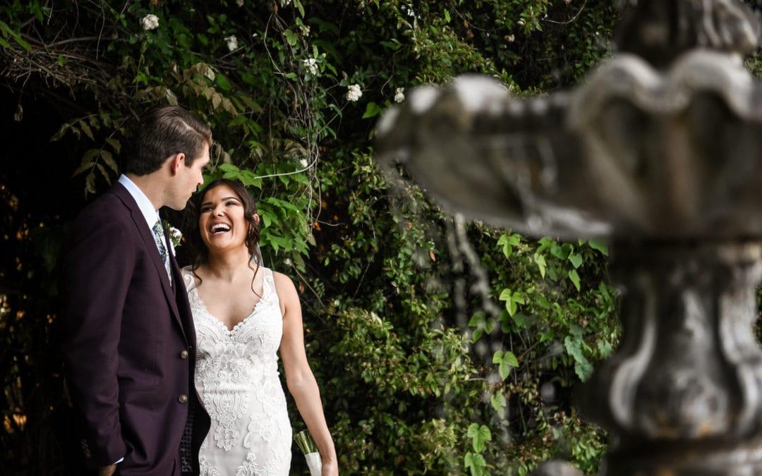 Aubree + Brandon :: He's Her Lobster Wedding :: Twin Oaks House