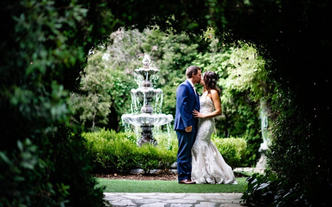 Kim + Jordan :: Floral Inspired Wedding at Twin Oaks Gardens