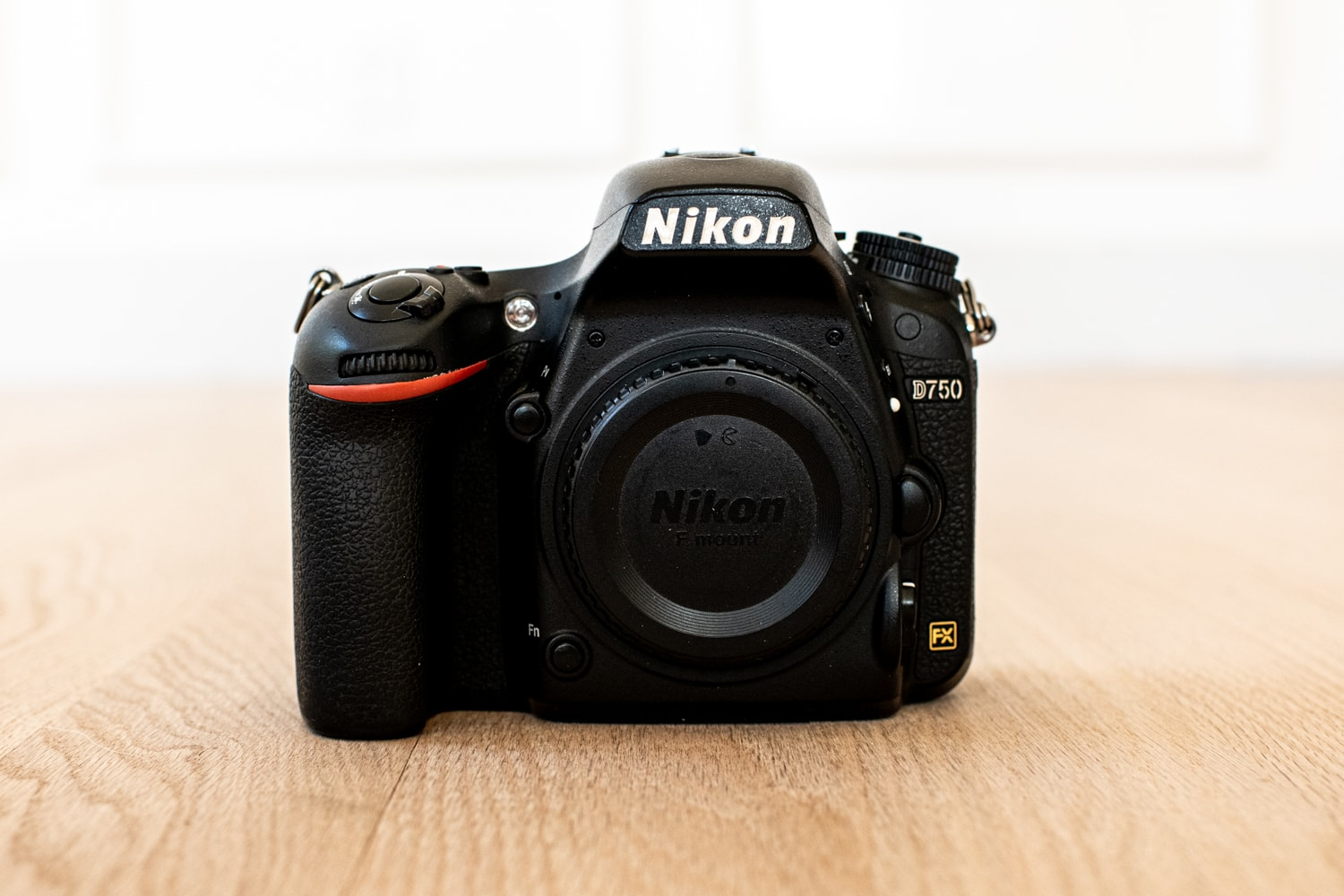 Nikon D750 dslr camera body for wedding photography.