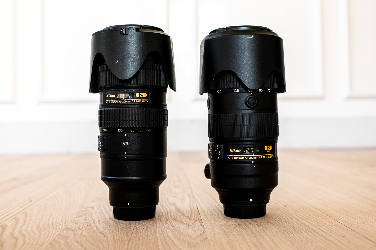 Nikkor 70-200mm lens for wedding photography.