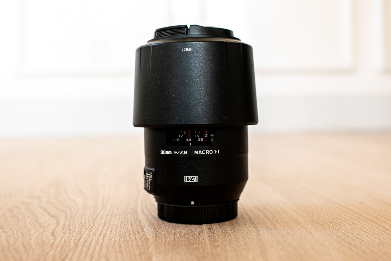 Tamron macro lens for wedding photography.