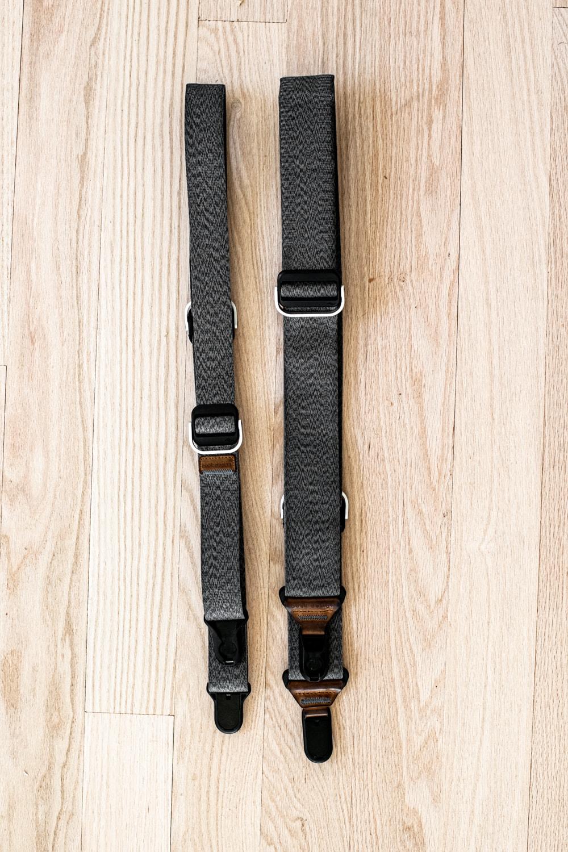 Peak Design single camera straps for wedding photography.