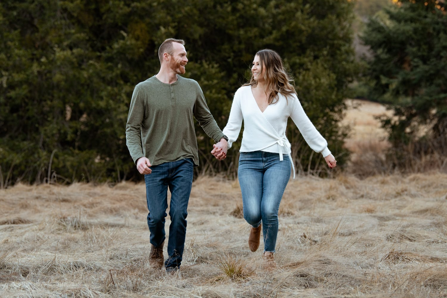 Palomar Mountain engagement session