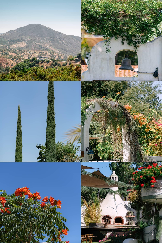 Views at Tivoli Italian Villa in Fallbrook.