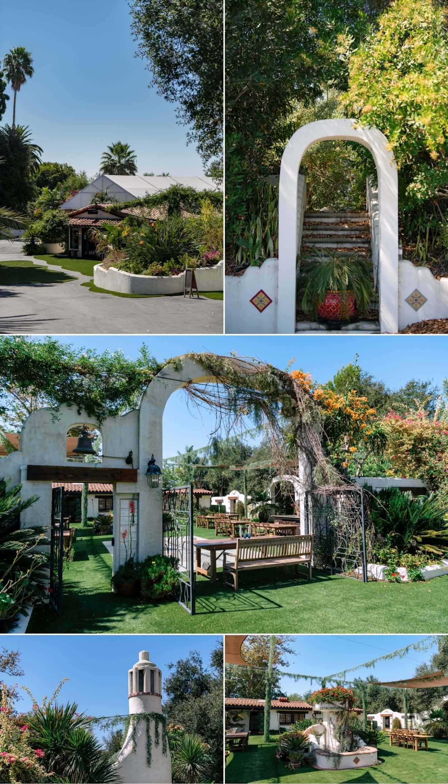 Tivoli Italian Villa Wedding venue in Fallbrook.