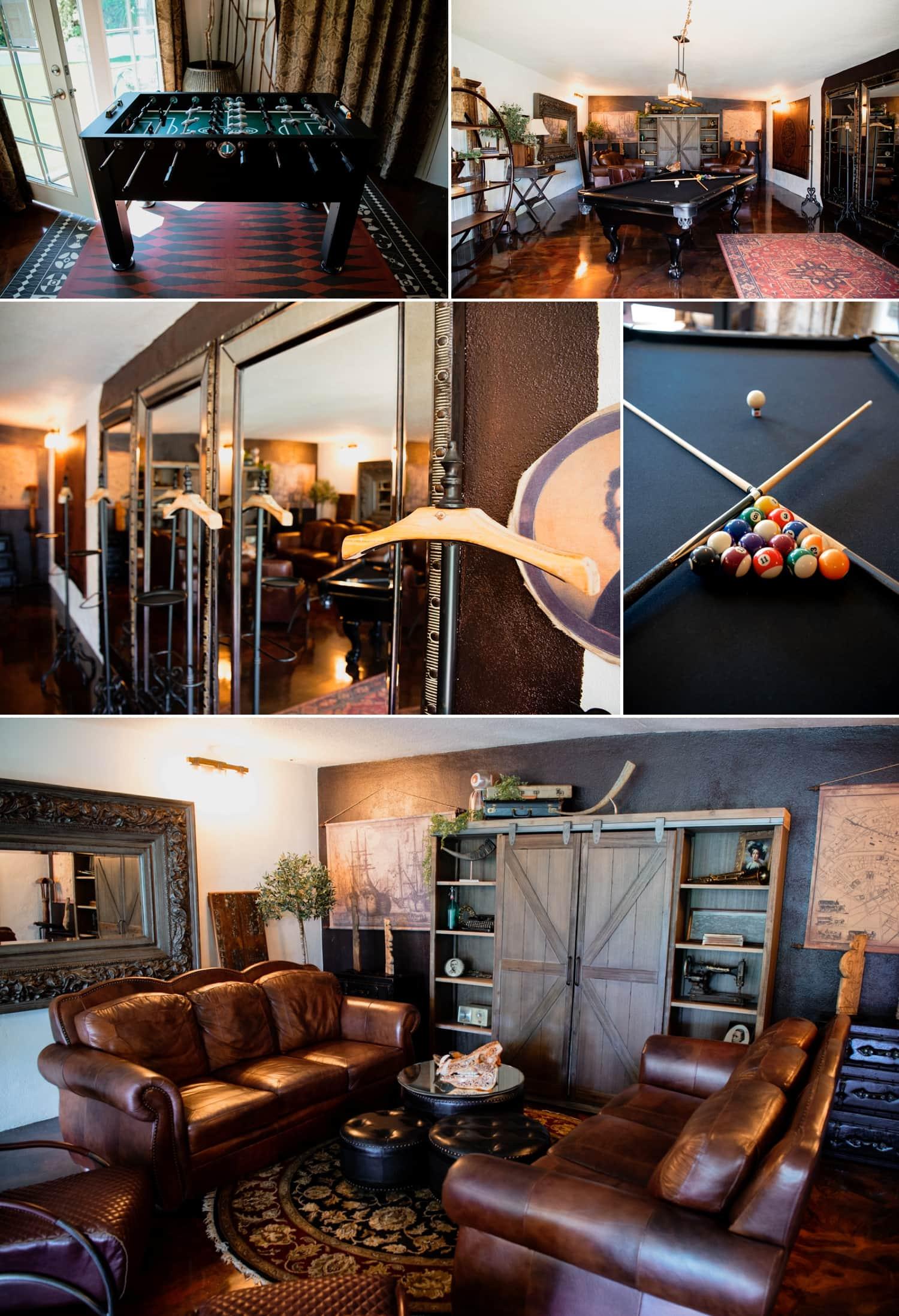Tivoli Italian Villa speakeasy