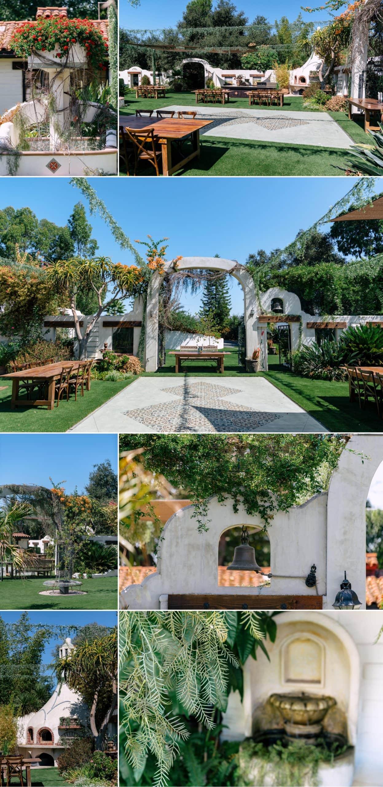 Tivoli wedding venue in Fallbrook, CA.