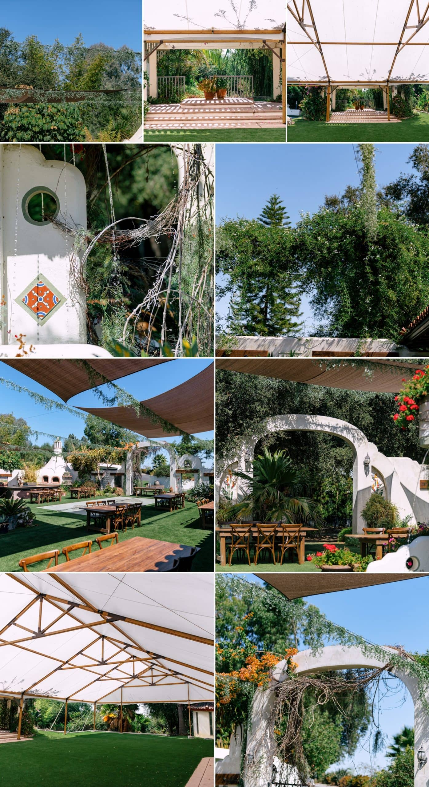 Spanish architecture at Tivoli wedding venue.