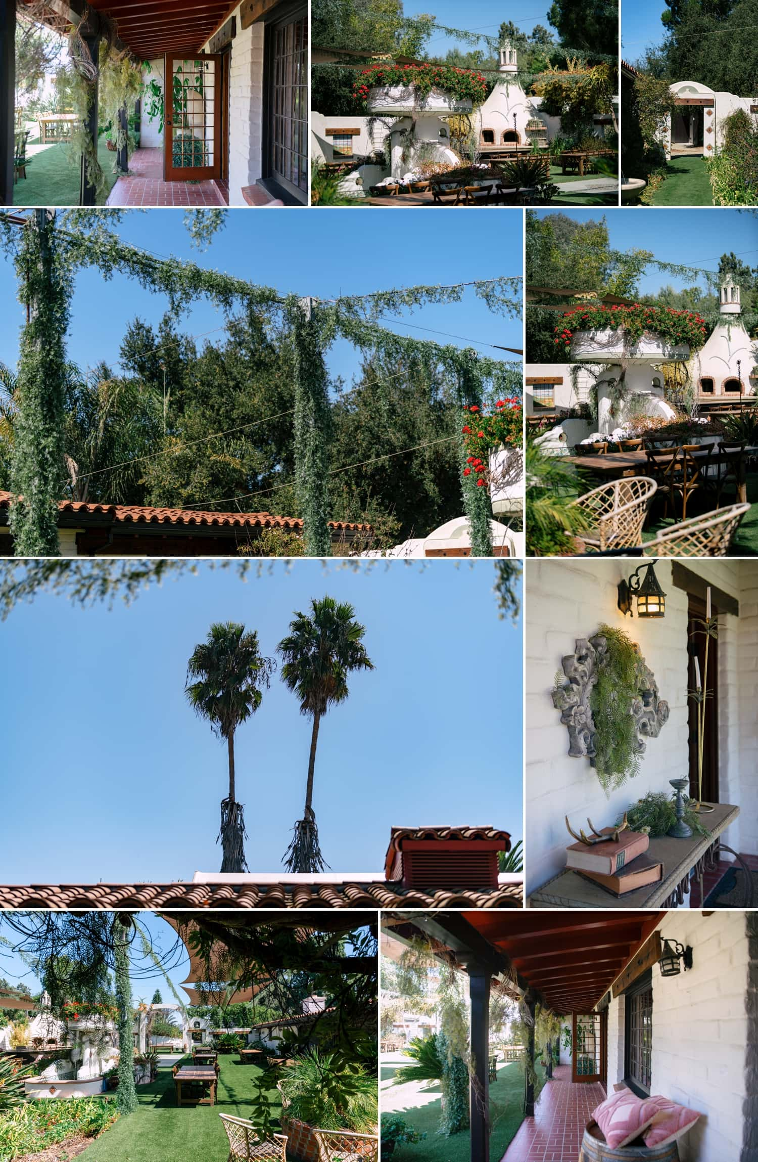The grounds at Tivoli in Fallbrook