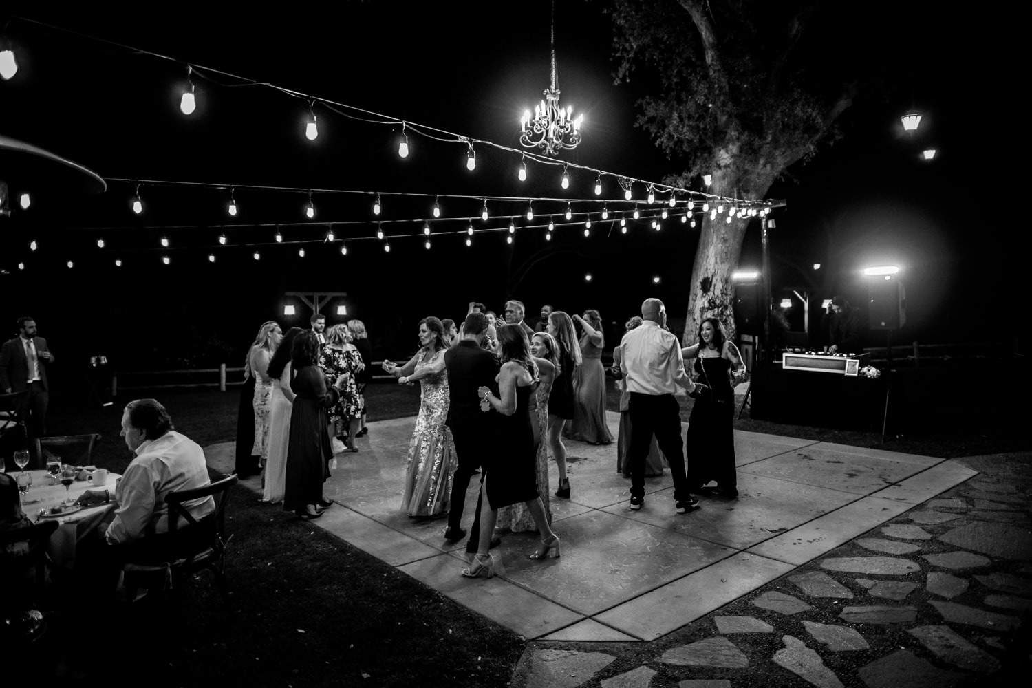 Wedding reception at The Stone House in Temecula, CA