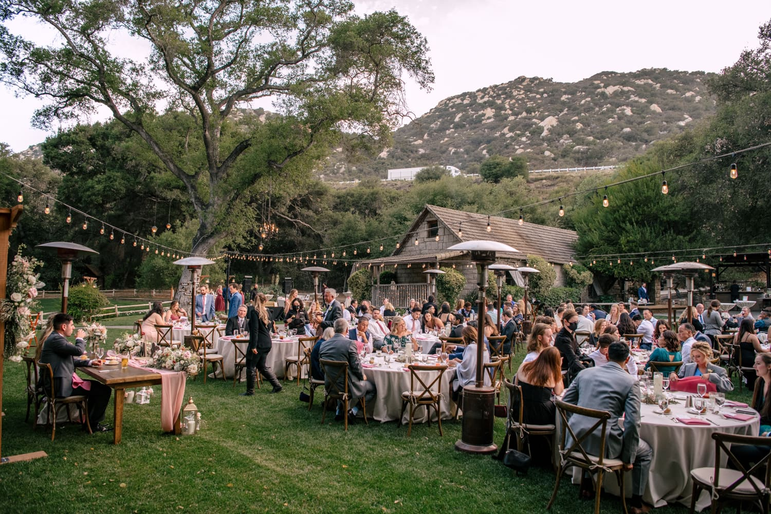 Reception space at The Stone House at Temecula Creek Inn