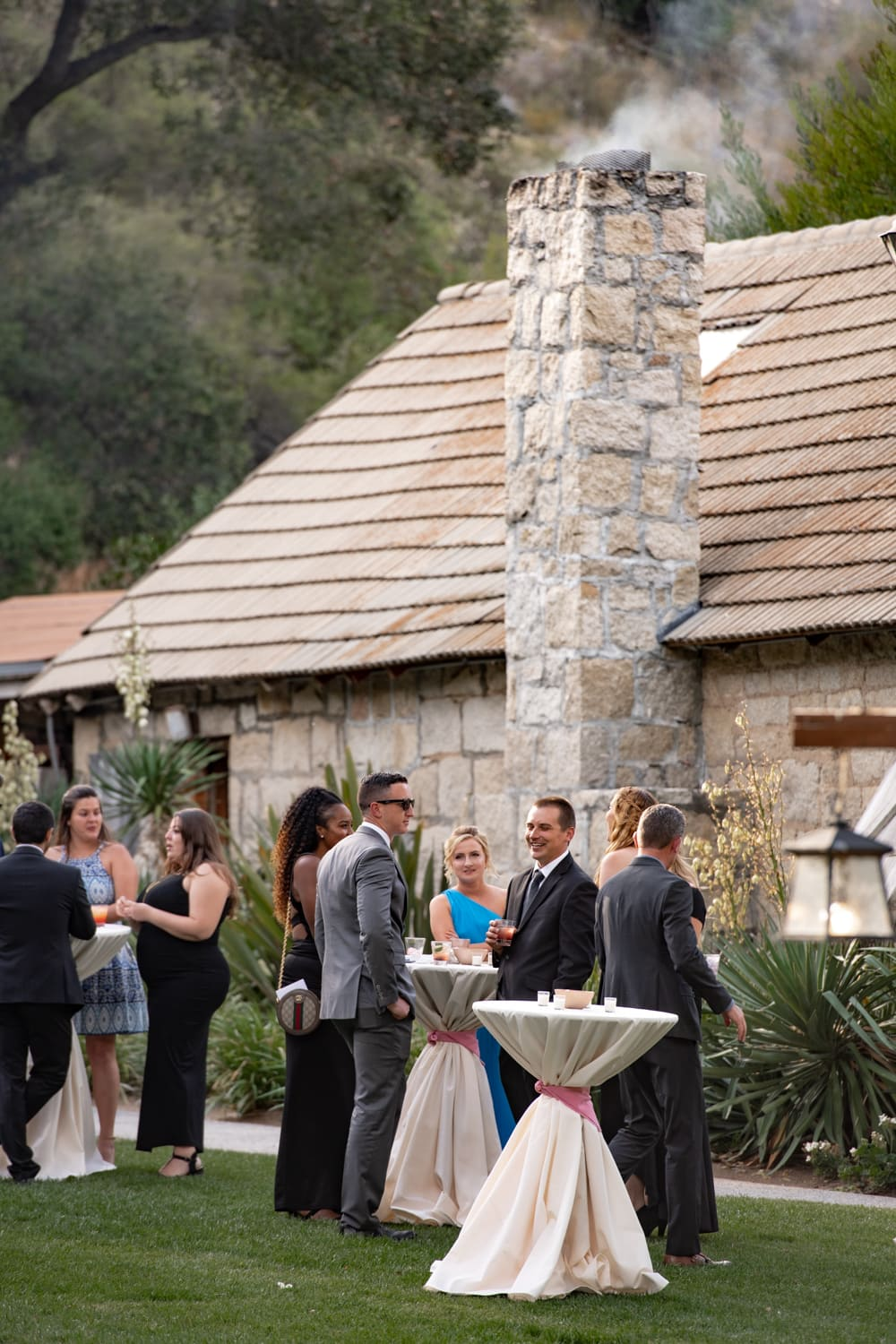 Cocktail hour at The Stone House at Temecula Creek Inn