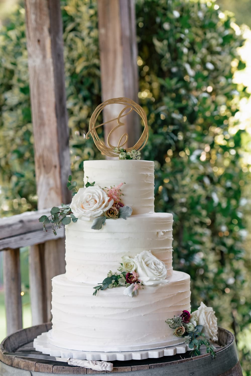 Wedding cake at The Stone House in Temecula, CA