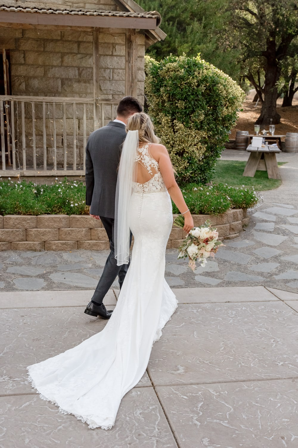 Couple at The Stone House in Temecula, CA
