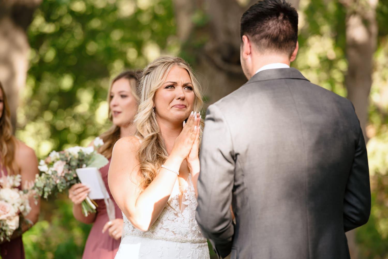 The Stone House wedding ceremony