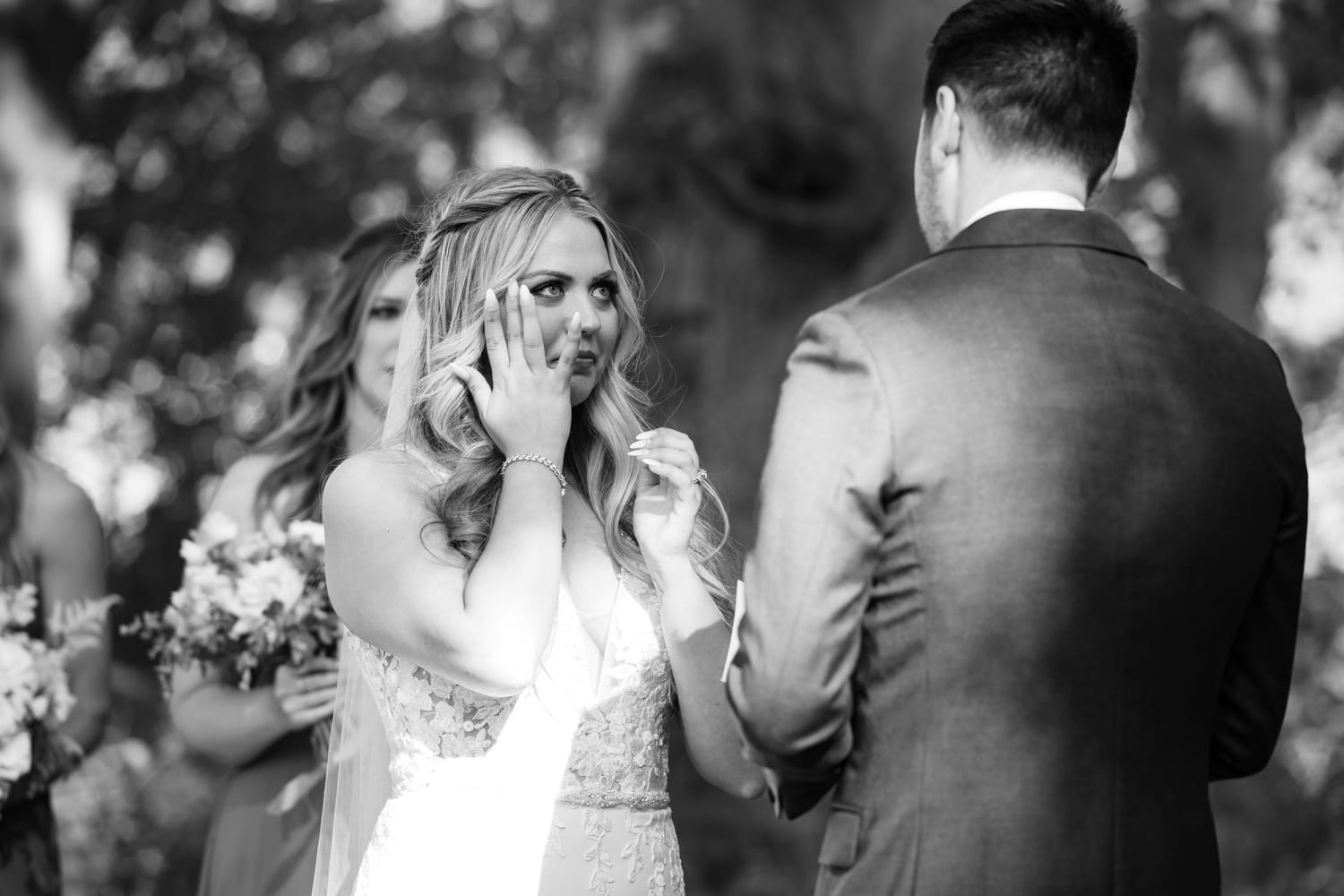 Wedding ceremony at The Stone House in Temecula, CA