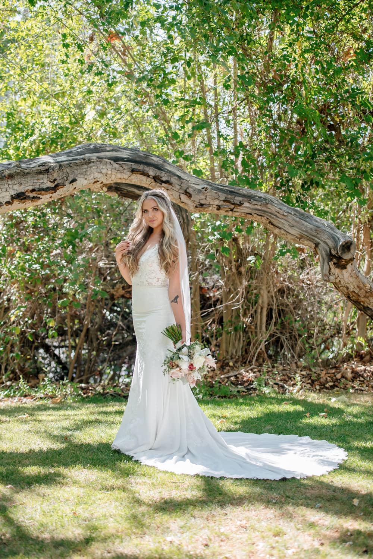 Bride at the Temecula Creek Inn