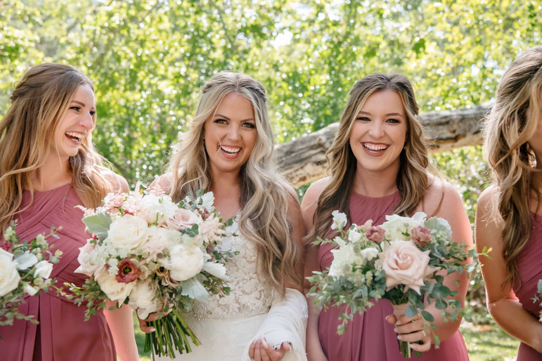 Bridesmaids photos at The Temecula Creek Inn